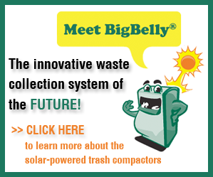 BigBelly Solar Powered Trash Compactor