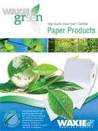 WAXIE-Green Paper Products